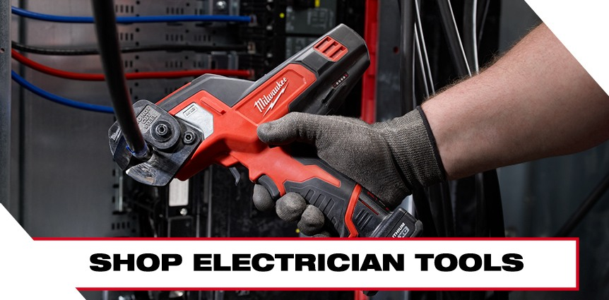 Milwaukee Tools Shop Electrician