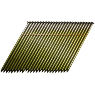 Strip Nail 28° Paper Tape Clipped Head Smooth Shank Bright Coated