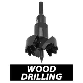 Milwaukee Wood Drilling