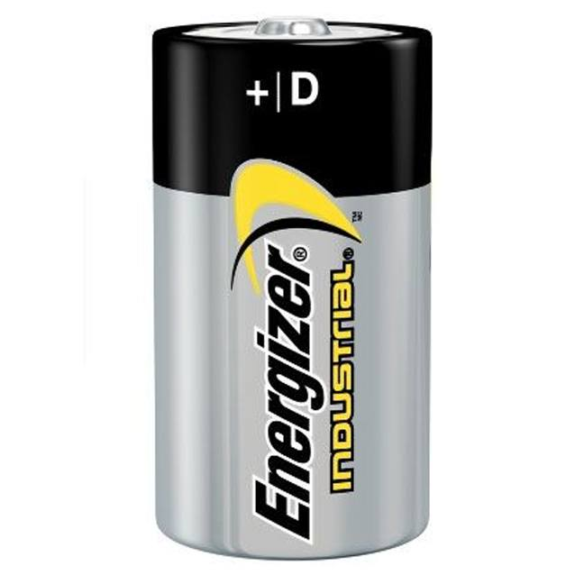 Energizer EN95 D Alkaline Industrial Batteries 12-Pack