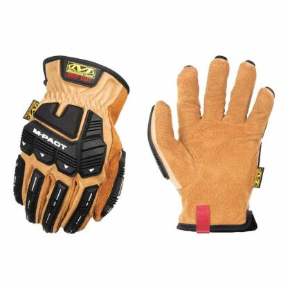 Mechanix LDMP-C75 Leather M-Pact Driver Gloves