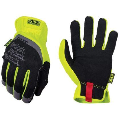 Mechanix SFF-C91 Hi-Viz FastFit Cut Resistant E5 Gloves