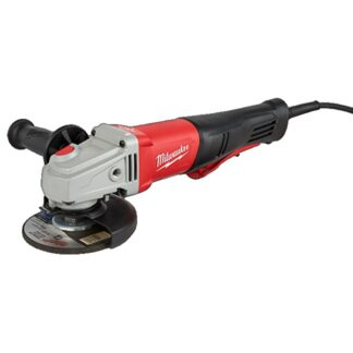 "Milwaukee 6143-31 11Amp 4-1/2""/5"" Braking Small Angle Grinder Paddle No-Lock"