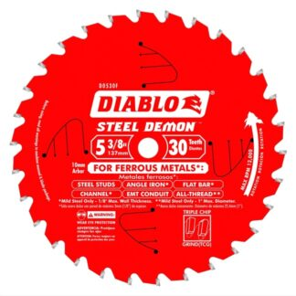 "Freud D0530F 5‑3/8"" x 30T Metal Cutting Saw Blade"