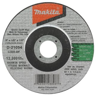 "Makita D-21054 5"" Masonry Cut-Off Wheel"