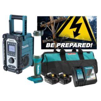 Makita DLX2318TX1 18V 5.0Ah LXT Emergency Kit