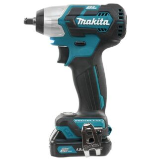 "Makita TW160DWYE 12V MAX CXT Brushless 3/8"" Impact Wrench Kit"