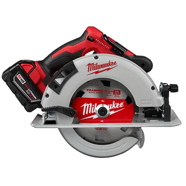 """Milwaukee 2631-21 M18 Brushless 7-1/4"""" Circular Saw Kit"""