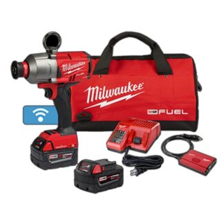 "Milwaukee 2865-22 M18 FUEL 7/16"" Hex Utility High Torque Impact Wrench with ONE-KEY Kit"