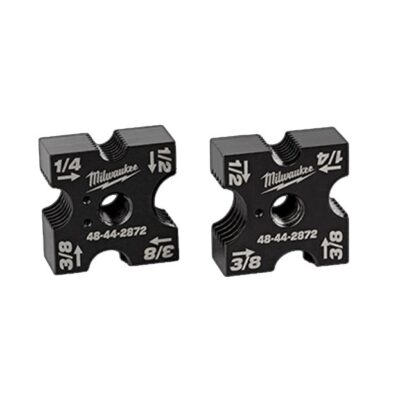 "Milwaukee 48-44-2872 1/4"", 3/8"", 1/2"" Replacement Cutting Die Set"