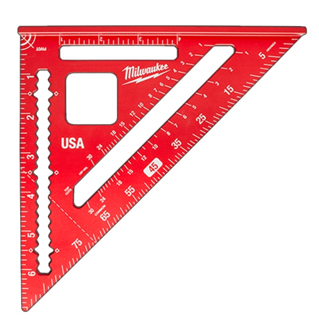 """Milwaukee MLSQM070 7"""" Magnetic Rafter Square"""