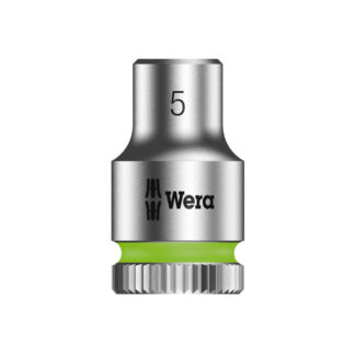"Wera 003503 8790 HMA Zyklop socket 5mm with 1/4"" drive"