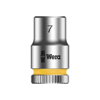 "Wera 003506 8790 HMA Zyklop socket 7mm with 1/4"" drive"
