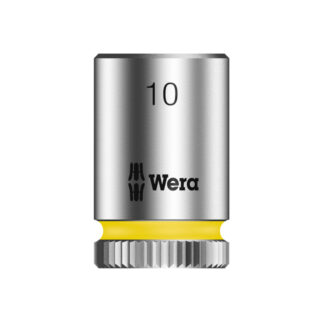 "Wera 003509 8790 HMA Zyklop socket 10mm with 1/4"" drive"