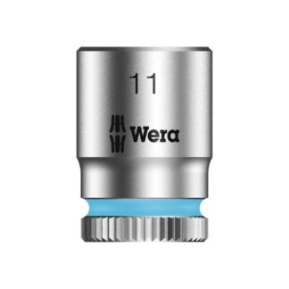 "Wera 003510 8790 HMA Zyklop socket 11mm with 1/4"" drive"