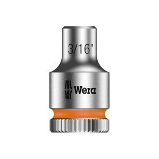 "Wera 003514 8790 HMA Zyklop socket 3/16"" with 1/4"" drive"