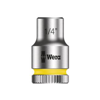 "Wera 003516 8790 HMA Zyklop socket 1/4"" with 1/4"" drive"