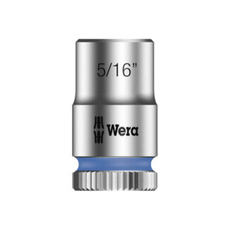 "Wera 003518 8790 HMA Zyklop socket 5/16"" with 1/4"" drive"