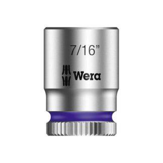 "Wera 003521 8790 HMA Zyklop socket 7/16"" with 1/4"" drive"