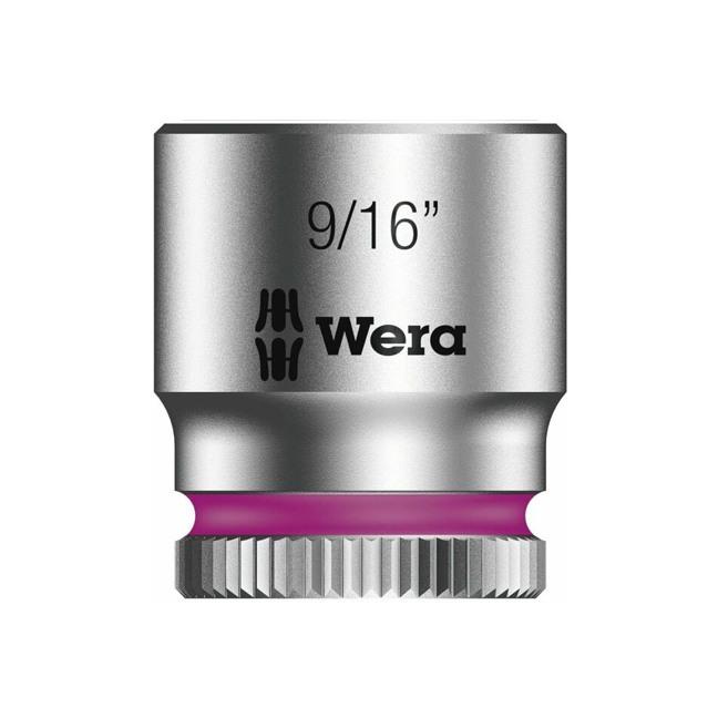 "Wera 003523 8790 HMA Zyklop socket 9/16"" with 1/4"" drive"