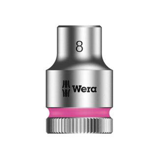 "Wera 003553 8790 HMB Zyklop socket 8mm with 3/8"" drive"