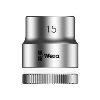 "Wera 003560 8790 HMB Zyklop socket 15mm with 3/8"" drive"