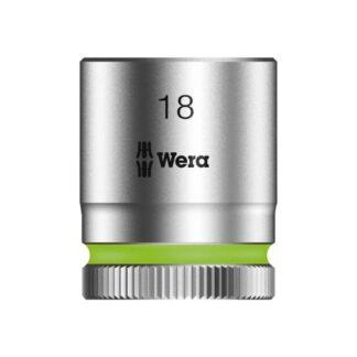 "Wera 003563 8790 HMB Zyklop socket 18mm with 3/8"" drive"