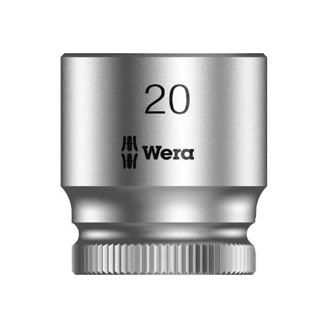 "Wera 003565 8790 HMB Zyklop socket 20mm with 3/8"" drive"