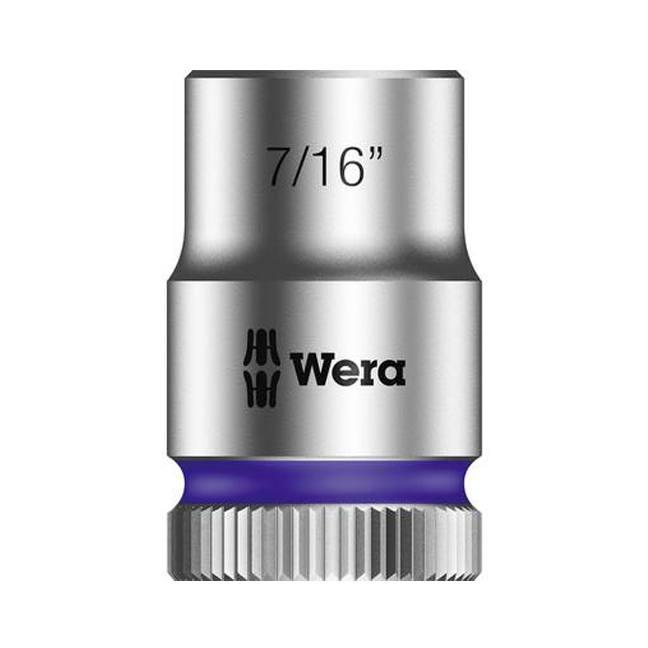"Wera 003573 8790 HMB Zyklop socket 7/16"" with 3/8"" drive"