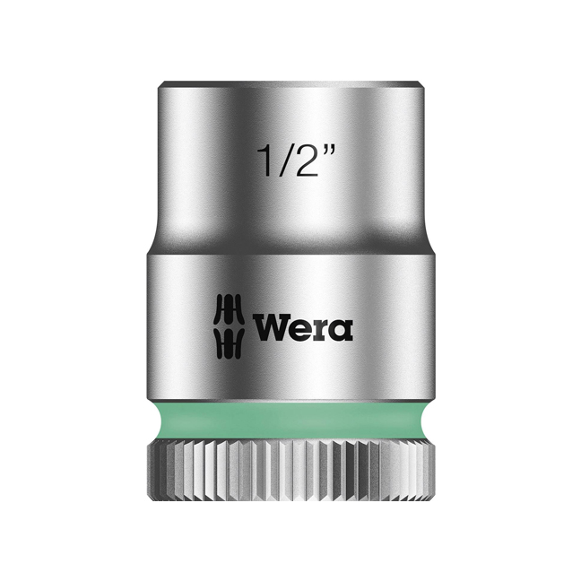 "Wera 003574 8790 HMB Zyklop socket 1/2"" with 3/8"" drive"