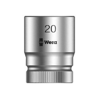"Wera 003611 8790 HMC Zyklop socket 20mm with 1/2"" drive"
