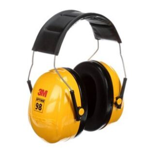 3M 7000009670 Peltor Optime 98 Over-the-Head Earmuffs H9A