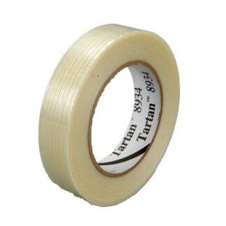 """3M 7000028886 Filament Tape 8934 Clear 3/4"""""""