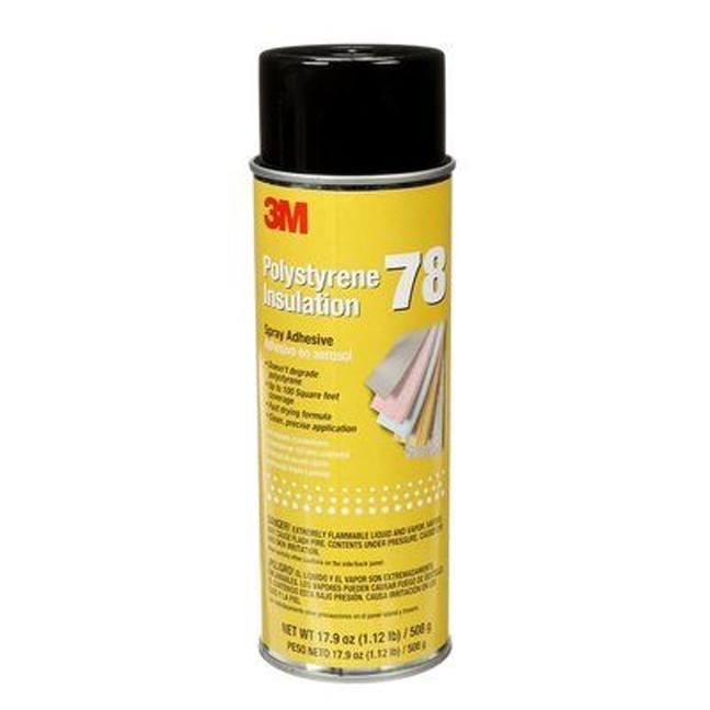 3M 7000046590 Polystyrene Foam Insulation Spray Adhesive