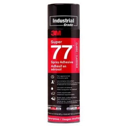 3M 7000121400 Super 77 Multipurpose Spray Adhesive