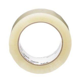 """3M 7000141033 Tartan Box Sealing Tape 305 Clear 2"""""""