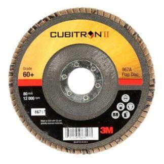 3M 7000148198 Cubitron II Flap Disc 967A