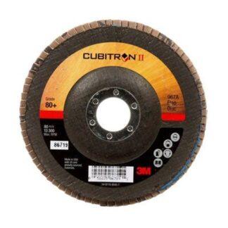 3M 7000148200 Cubitron II Flap Disc 967A