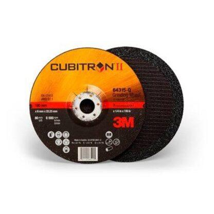"3M 7100094062 Cubitron II Depressed Center Grinding Wheel 64315 7"""