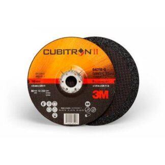 "3M 7100103318 Cubitron II Depressed Center Grinding Wheel 64318 6"""