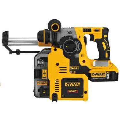 "DeWalt DCH273P2DHO 20V MAX XR Brushless 1"" L-Shape SDS-Plus Rotary Hammer Kit"