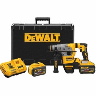 "DeWalt DCH293X2 20V MAX XR Brushless 1-1/8"" L-Shape SDS-Plus Rotary Hammer"