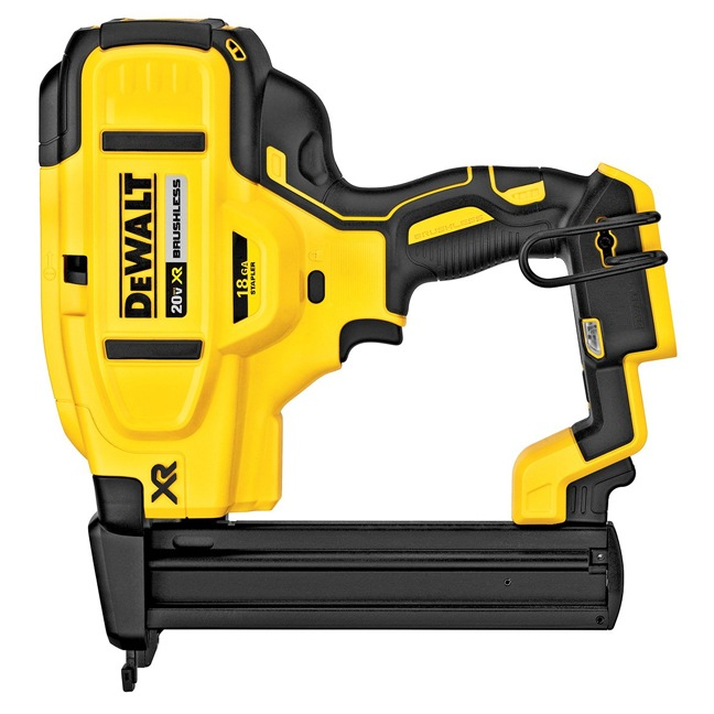 DeWalt DCN681B 20V MAX XR 18 GA Narrow Crown Stapler