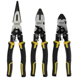 DeWalt DWHT70485 Compound Action Plier 3pk