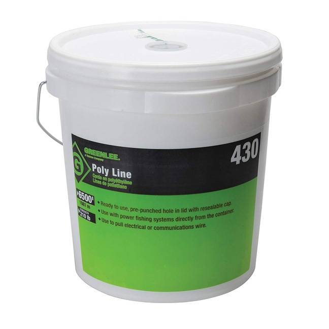 Greenlee 430 Poly Fish Line Tracer Green 6500ft