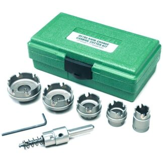 Greenlee 660 Kwik Change Stainless Steel Hole Cutter Kit 7pc