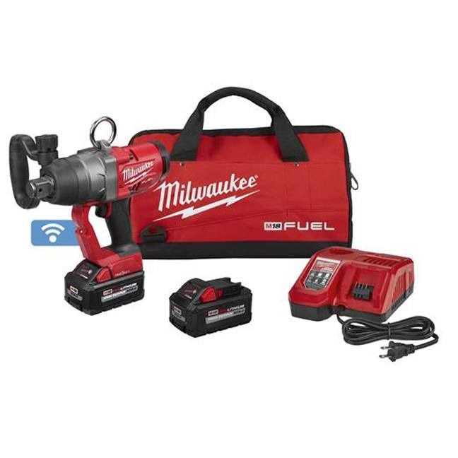 """Milwaukee 2867-22 M18 FUEL 1"""" High Torque Impact Wrench with ONE-KEY Kit"""