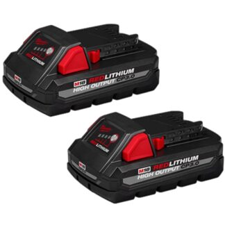 Milwaukee 48-11-1837 M18 REDLITHIUM HIGH OUTPUT CP3.0 Battery 2pk
