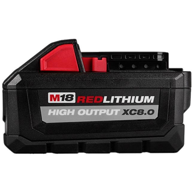 Milwaukee 48-11-1880 M18 REDLITHIUM HIGH OUTPUT XC8.0 Battery