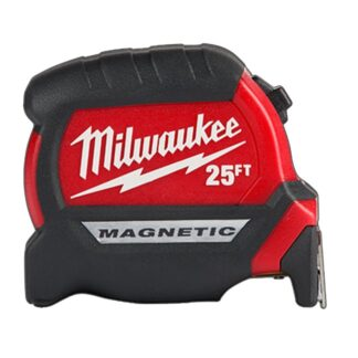 Milwaukee 48-22-0125 25ft Compact Magnetic Tape Measure